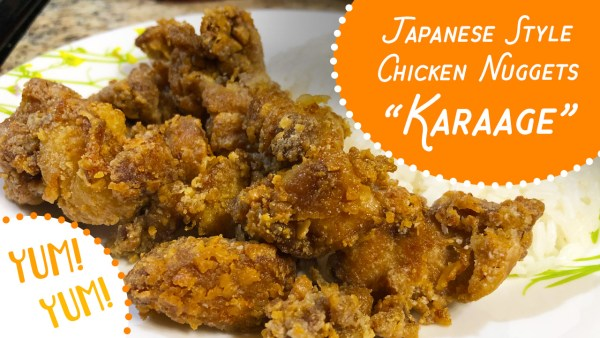 Karaage - Japanese style chicken nuggets