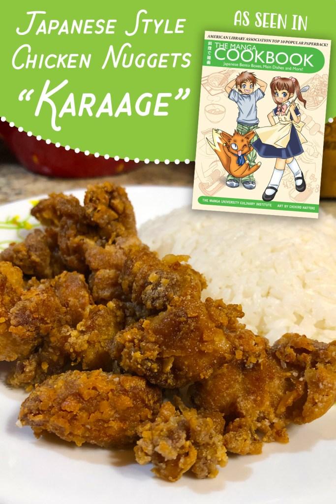 Karaage (Japanese style chicken nuggets)