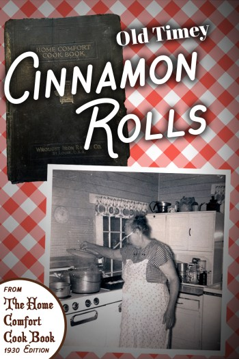 Old Timey Cinnamon Rolls
