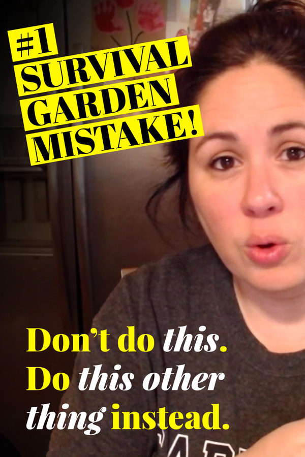 #1 Survival Garden Mistake
