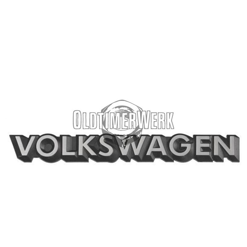 Schriftzug Volkswagen in schwarz/weiss Golf & Co Polo OE