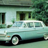 Opel Kapitän feiert 50jähriges Jubiläum