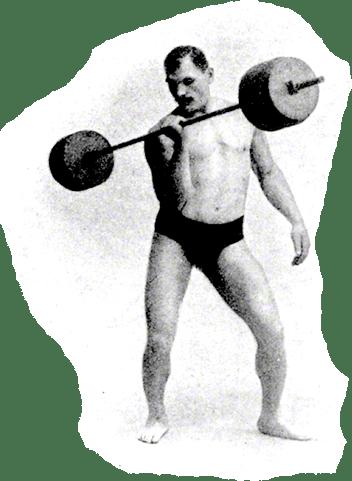 Arthur Saxon, The Iron Master