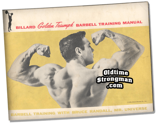 The Billard Golden Triumph Barbell Training Manual