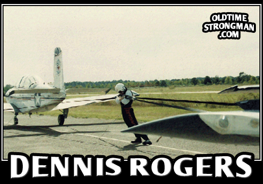 Dennis Rogers' Death Defying Airplane Human Chain Feat