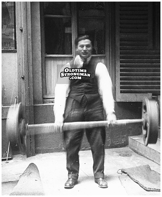 Ernest Cadine (Dead)Lifts The Apollon Wheels