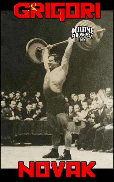 Grigori Novak - Russian Weightlifter