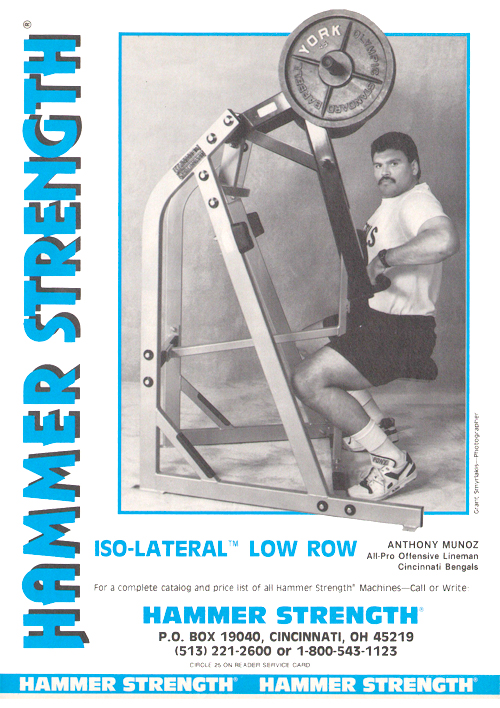 The Hammer Strength Iso-Lateral Low Row