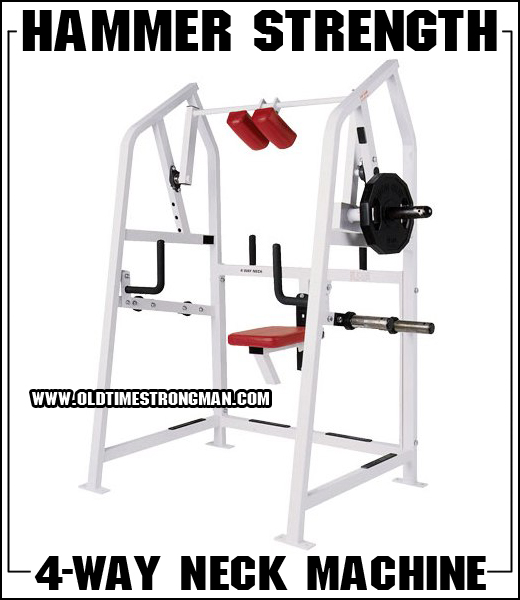 The Hammer Strength 4-Way Neck Machine