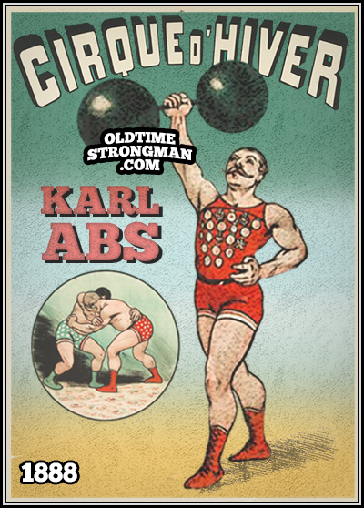 Karl Abs at The Winter Circus