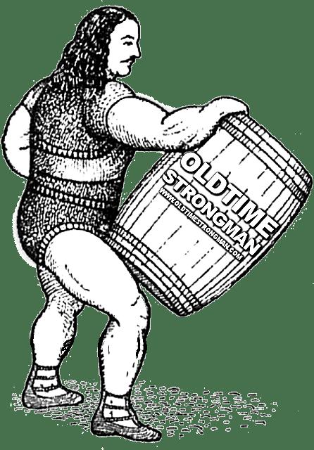 Louis Cyr Barrel Lifting