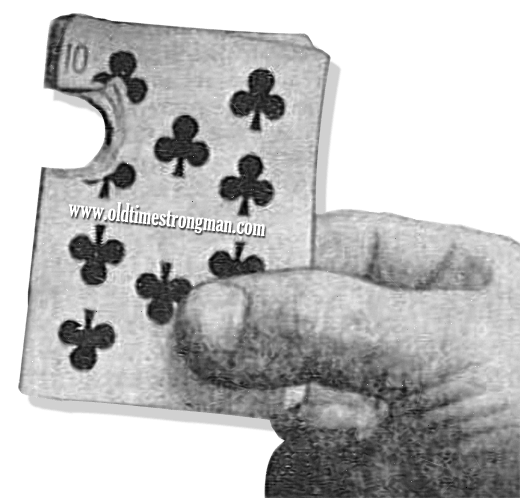 Paul Von Boeckman could rip a quarter-sized chunk out of a deck of cards