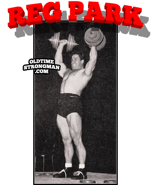 Reg Park: Standing Dumbbell Press