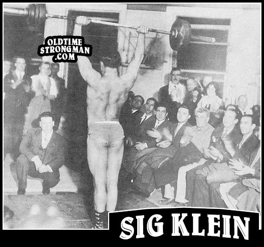 Sig Klein's Press