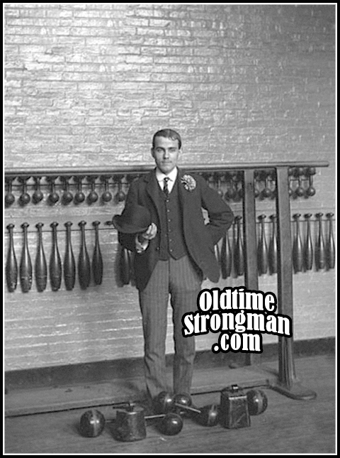 The Man in The Gymnasium