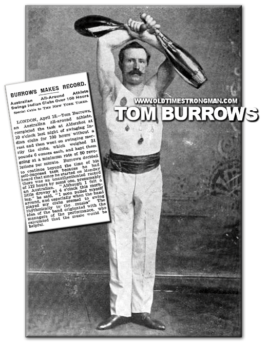 Tom Burrows Makes The Record