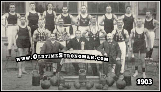 The Treubund Sport-Club, 1903