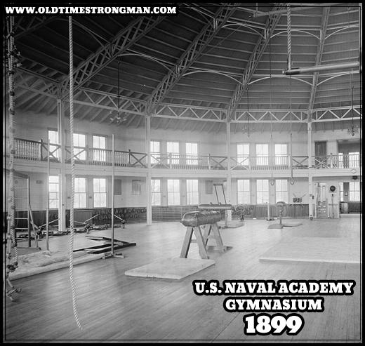 U.S. Naval Acadey Gymnasium 1899