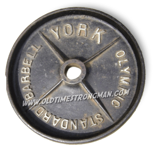 York Deep-Dish 45-Pound Barbell Plates