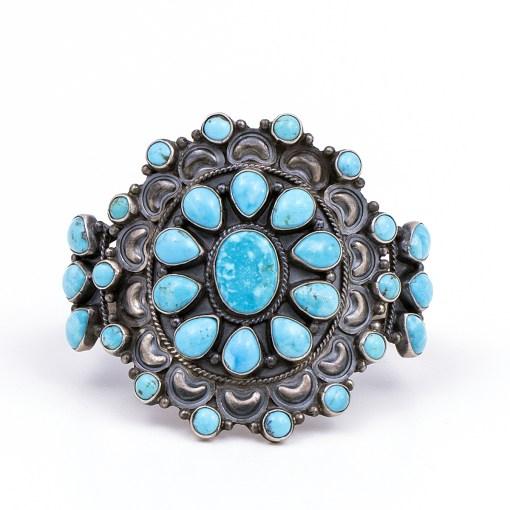 Dean Brown Turquoise Bracelet