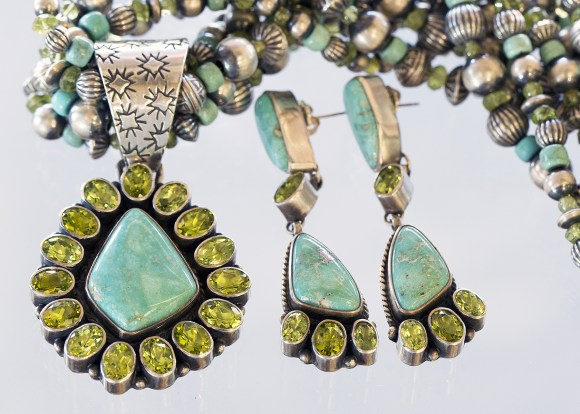 Don Livingston Turquoise and Peridot