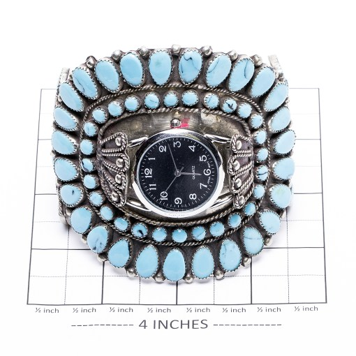 Unisex Turquoise Watch