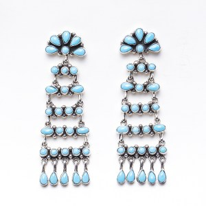 Navajo D Ashley Chandelier Earrings
