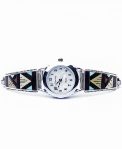 Zuni L.L. Othole Inlay Watch