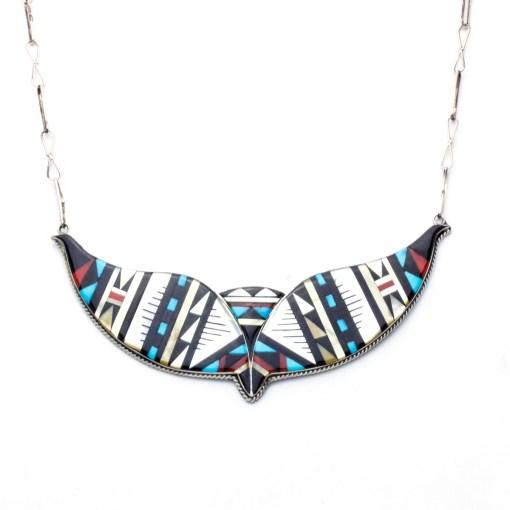 Zuni artists D Othole Onyx Necklace