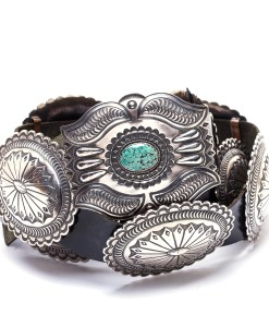 Navajo Mens Concho Belt