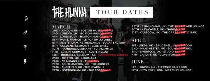 The Hunna tour