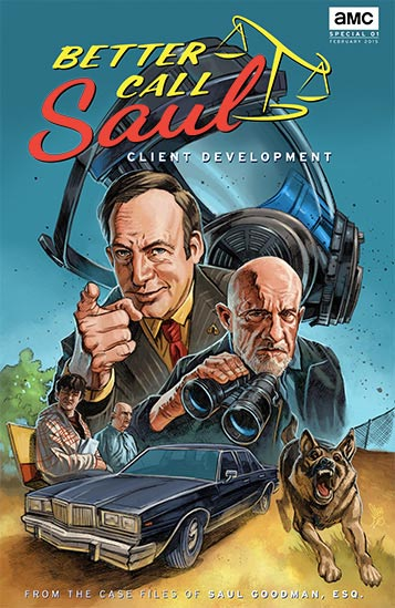 Cómic de Better Call Saul