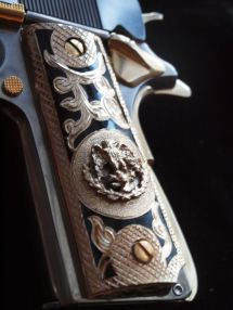 Custom Inlay Pistol Grips - Year of Clean Water