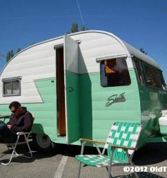 freshly restored 1956 shasta travel trailer [ 1504 x 1000 Pixel ]
