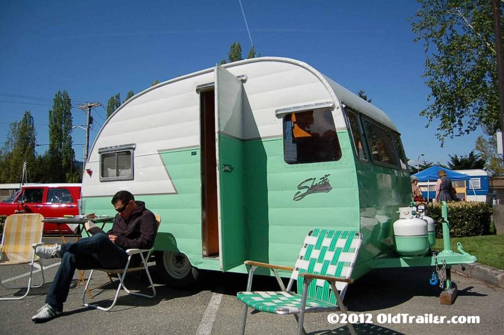 medium resolution of freshly restored 1956 shasta travel trailer