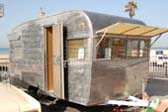 Paint Removed From 1962 Vintage Shasta Airflyte Trailer: Huntington BeachCruisers Meet