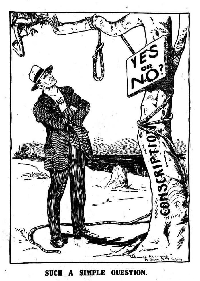 The First Conscription Referendum - 1916