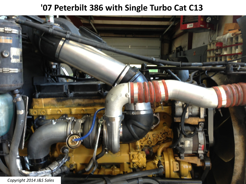 Peterbilt Ac Wiring Diagram Cat C 11 C 13 Acert Single Turbo Conversion Kit