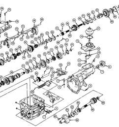 transmission parts exploded view autos post t5 transmission breakdown t5 transmission parts list [ 1369 x 1105 Pixel ]