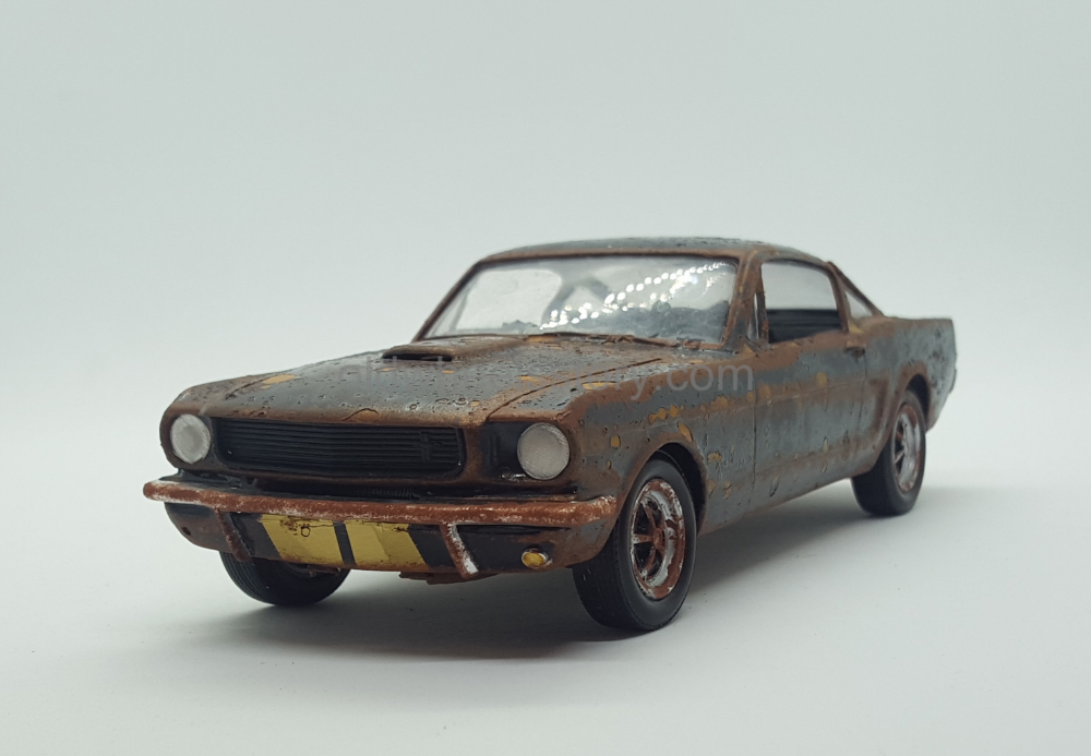 The 1965 model year proved to be a historic year for ford, as the mustang became the fastest selling new car in history, reaching 400,000 units in march. 1965 Ford Mustang Fastback 1 24 Scale Plastic The Old Wheels Story
