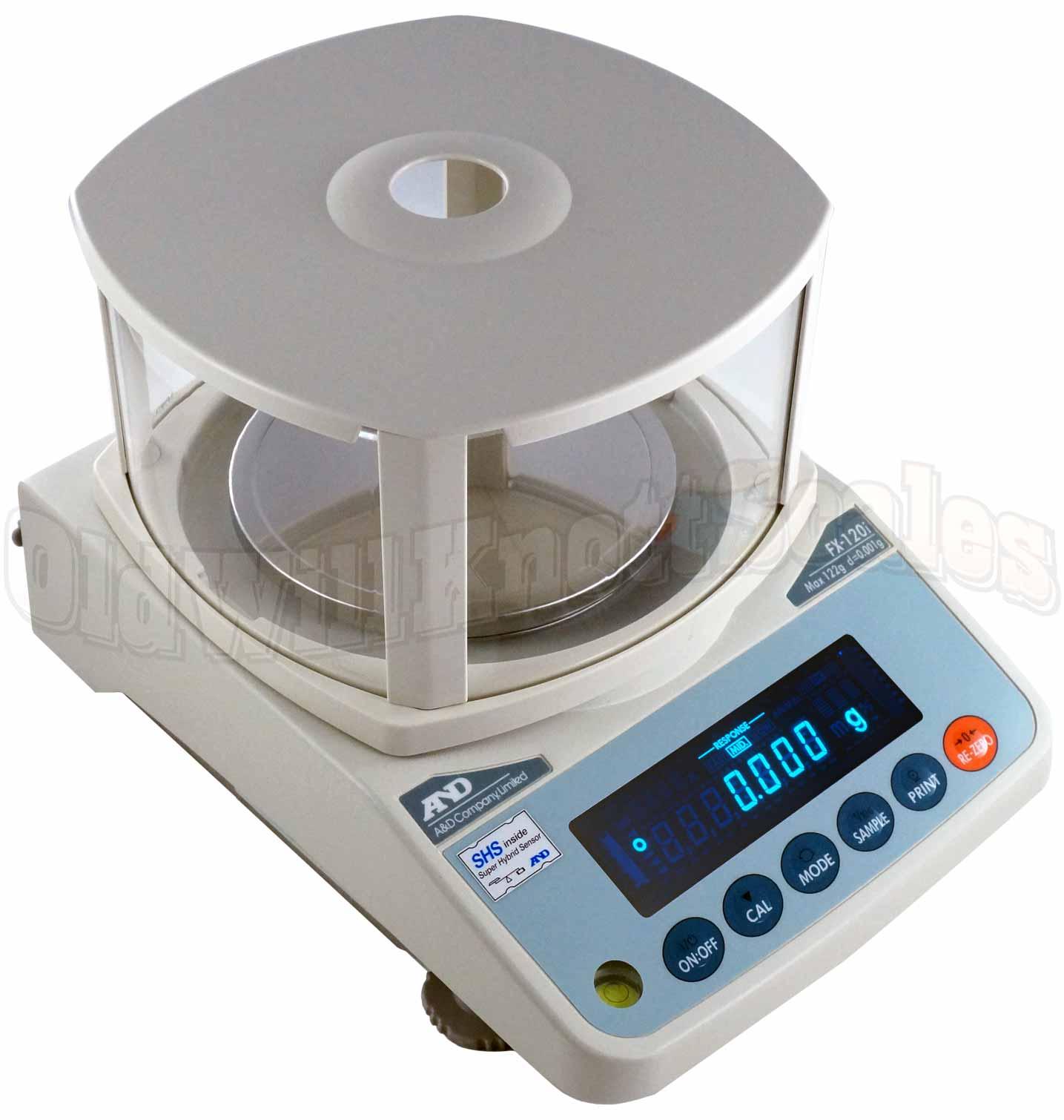 AD Scales FXi Series FX120i Toploader Precision Balance