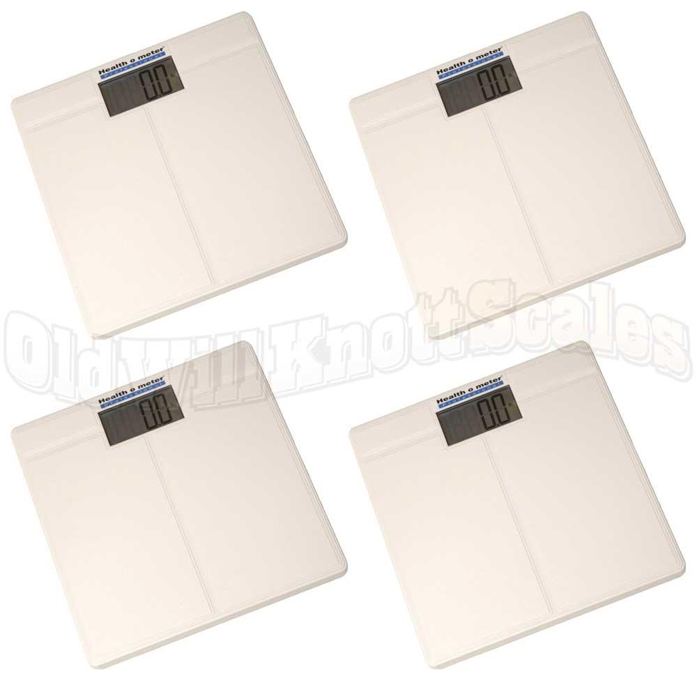 Health o meter 800KL 4 Pack of Digital Bathroom Scales