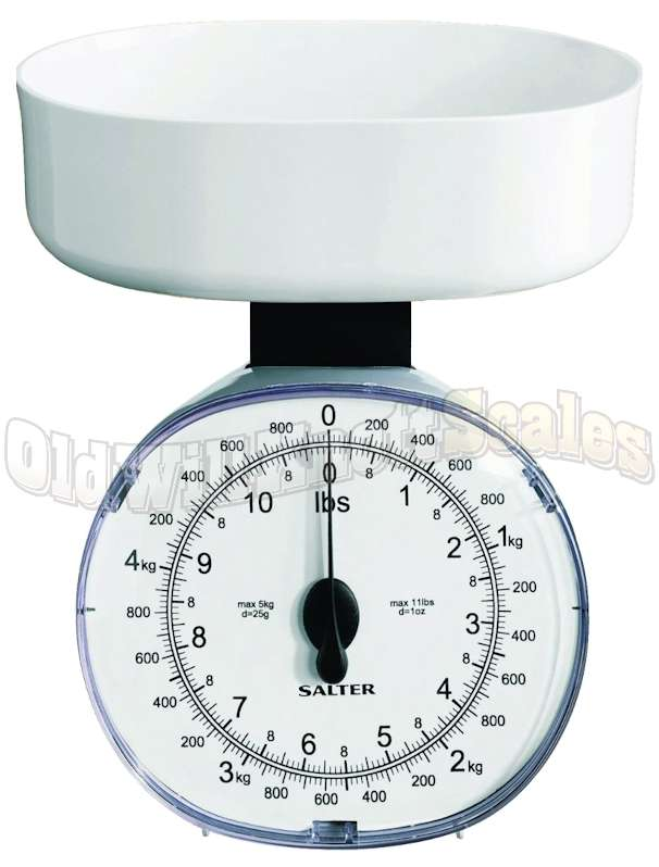 Salter 125 Mechanical Food Scale with Weighing Bowl
