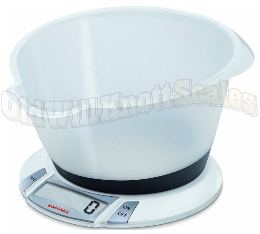 SOEHNLE 66111 Olympia Plus Digital Kitchen Scale