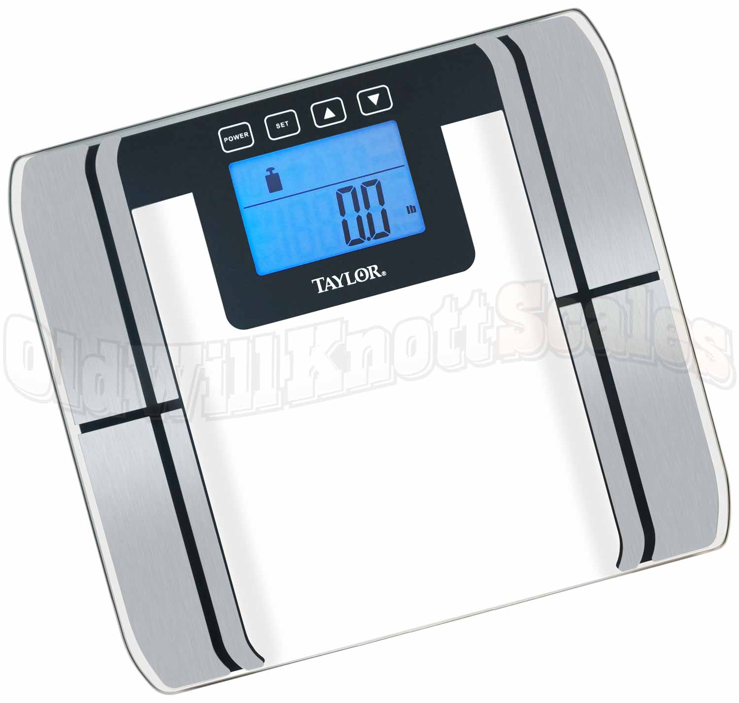 Taylor 5761 Digital Body Fat Water Muscle and Bone Scale
