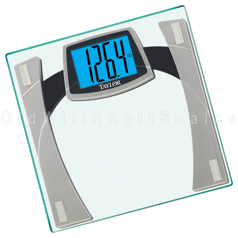 The Taylor 7556 Digital Bathroom Scale With Extra Large Display