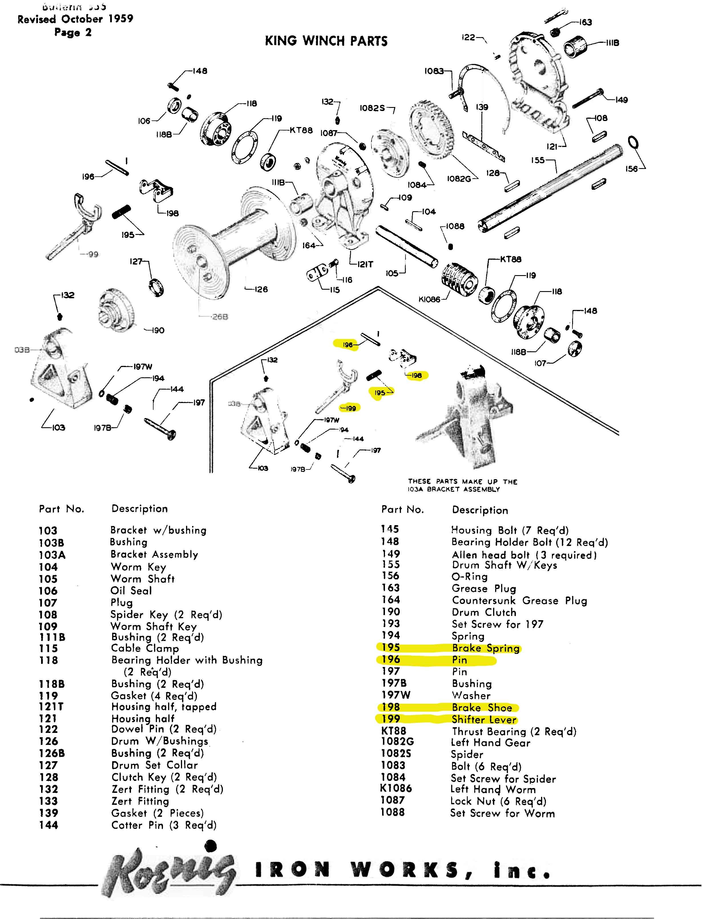 Warn Overdrive Parts Diagram 1979 Dodge Transmission