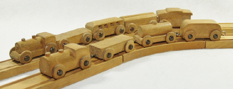 Wooden Train Track Dimensions