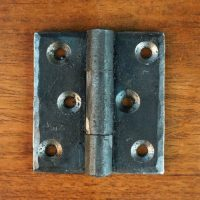 Iron Hinge, Rustic Hardware for Cabinets, Cabinet Hinges