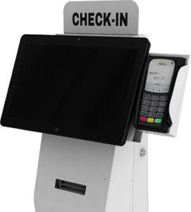 """The """"Austin"""" Kiosk - Freestanding Patient Check-In Kiosk"""